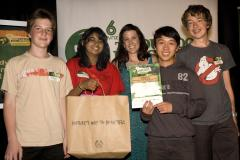 Picklethugs team with Jess Henderson of The Body Shop at The Outlook for Someday Awards 2009