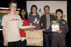 Picklethugs team with Jonathan King at The Outlook for Someday Awards 2009