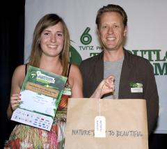 Samantha Carruthers and Jonathan King at The Outlook for Someday Awards 2009