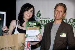 Samantha Caughey and Jonathan King at The Outlook for Someday Awards 2009